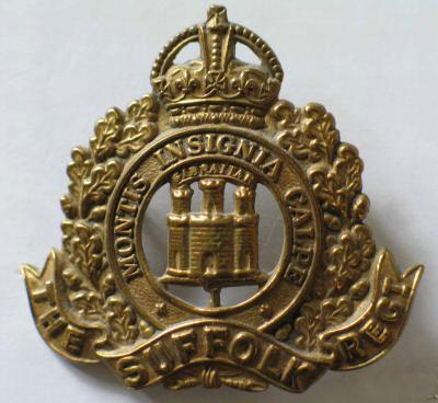 1st Suffolk's Cap Badge