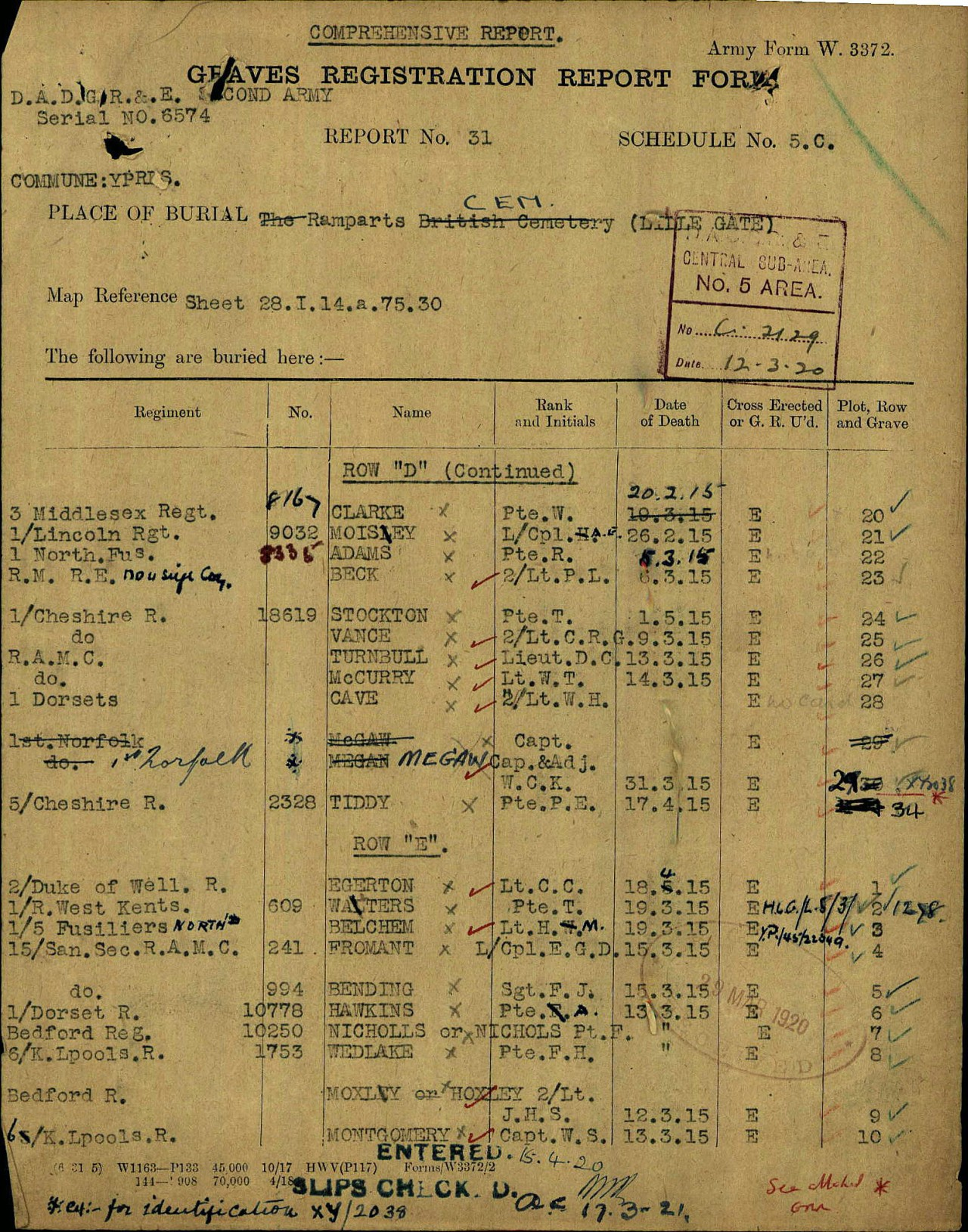 CWGC Grave Registration Fromant.JPG