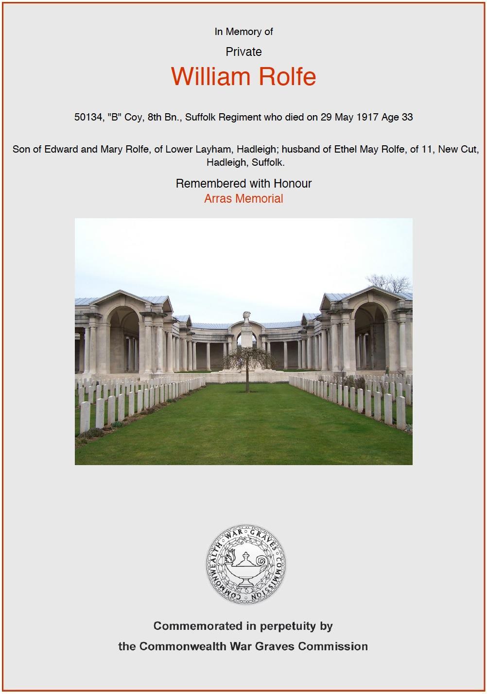 CWGC Commemorative Cert W Rolfe.jpg