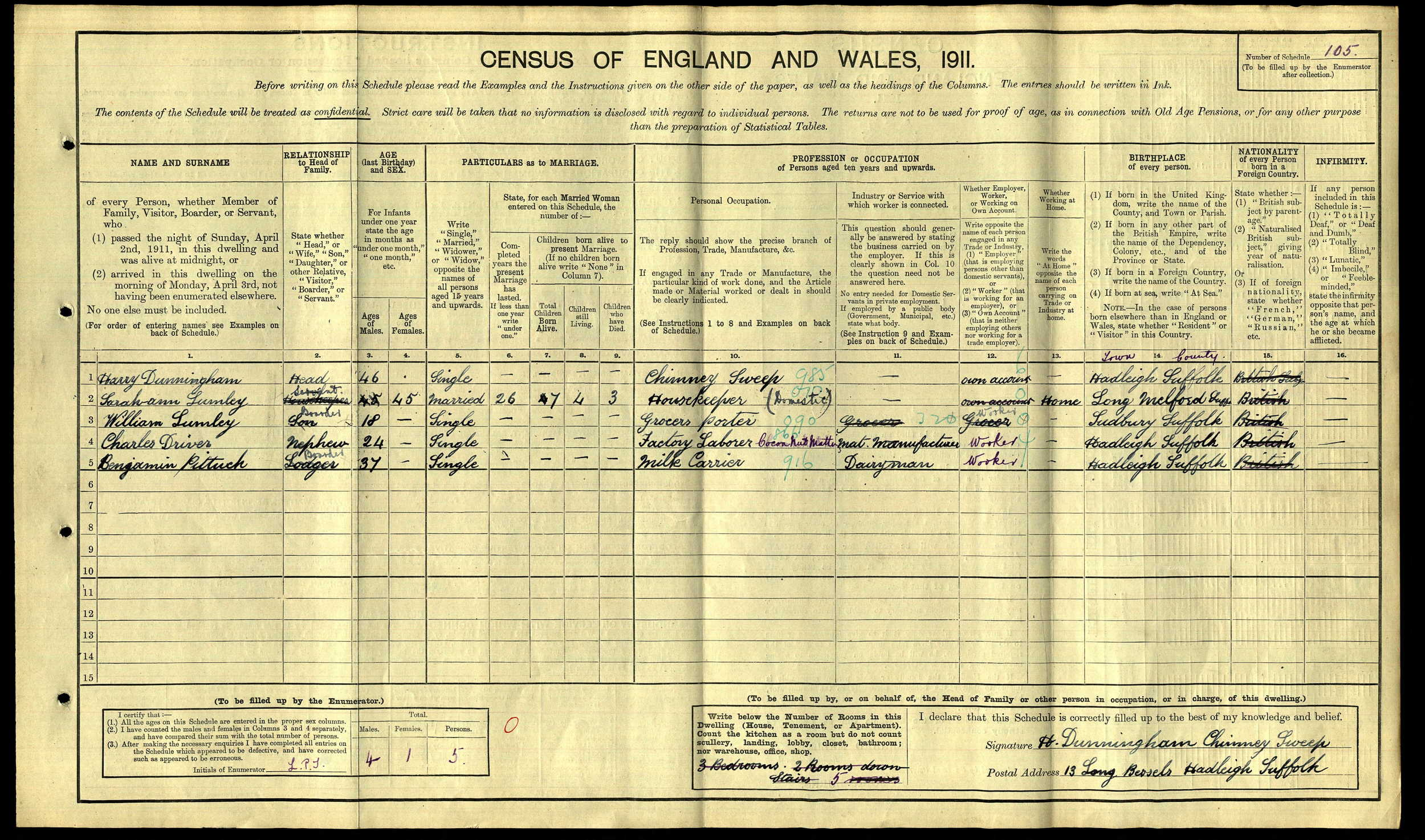 Charles Driver 1911 census.jpg