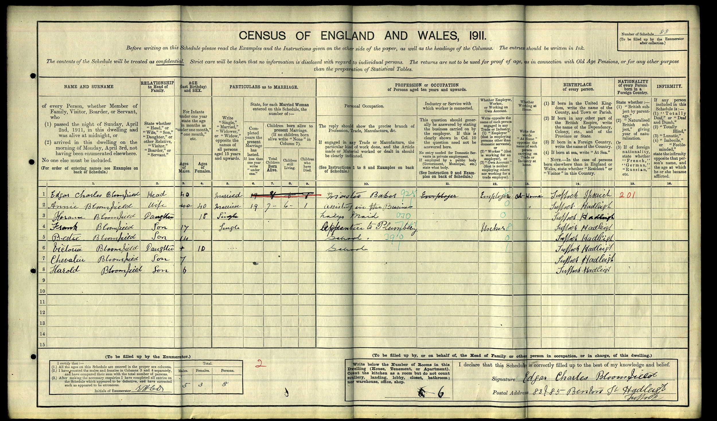 Frank Bloomfield 1911 census.jpg