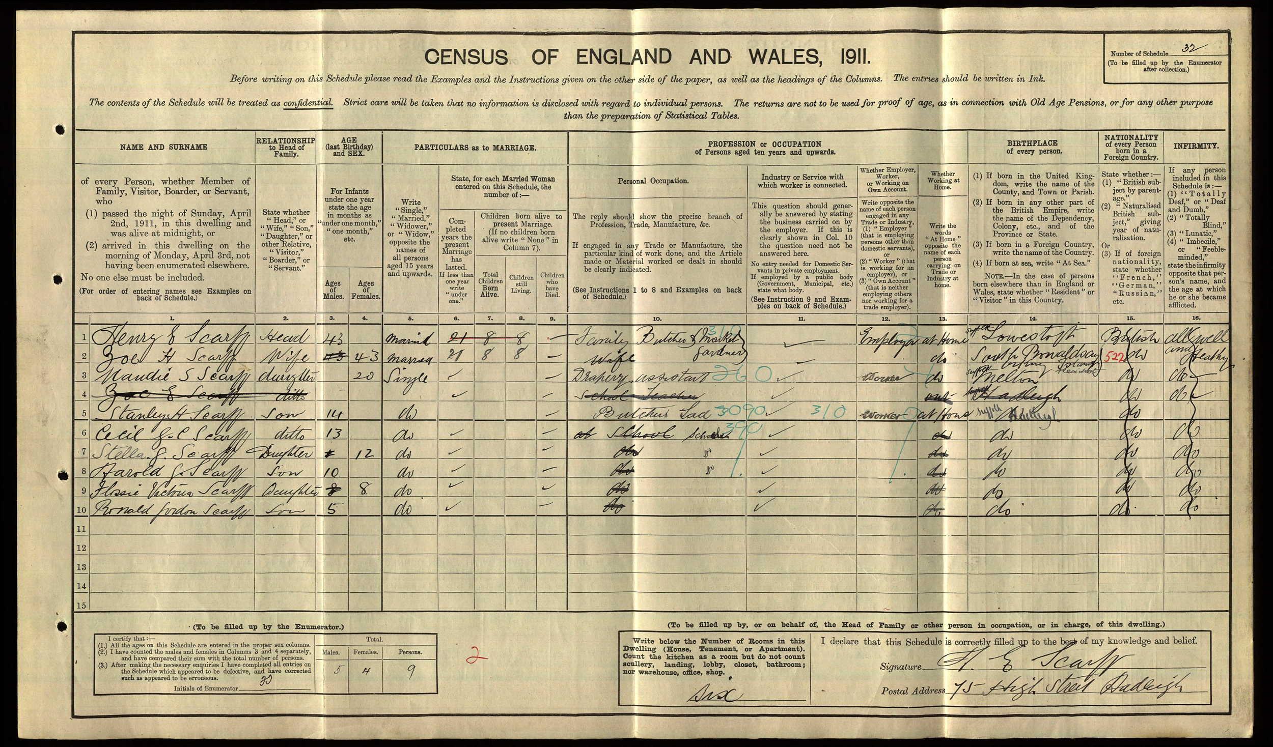 anc 1911 census Scarff.jpg