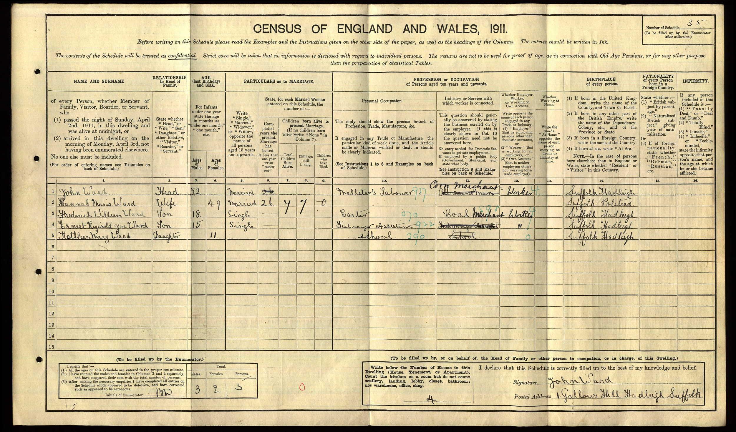 anc 1911 census Ernest Ward.jpg