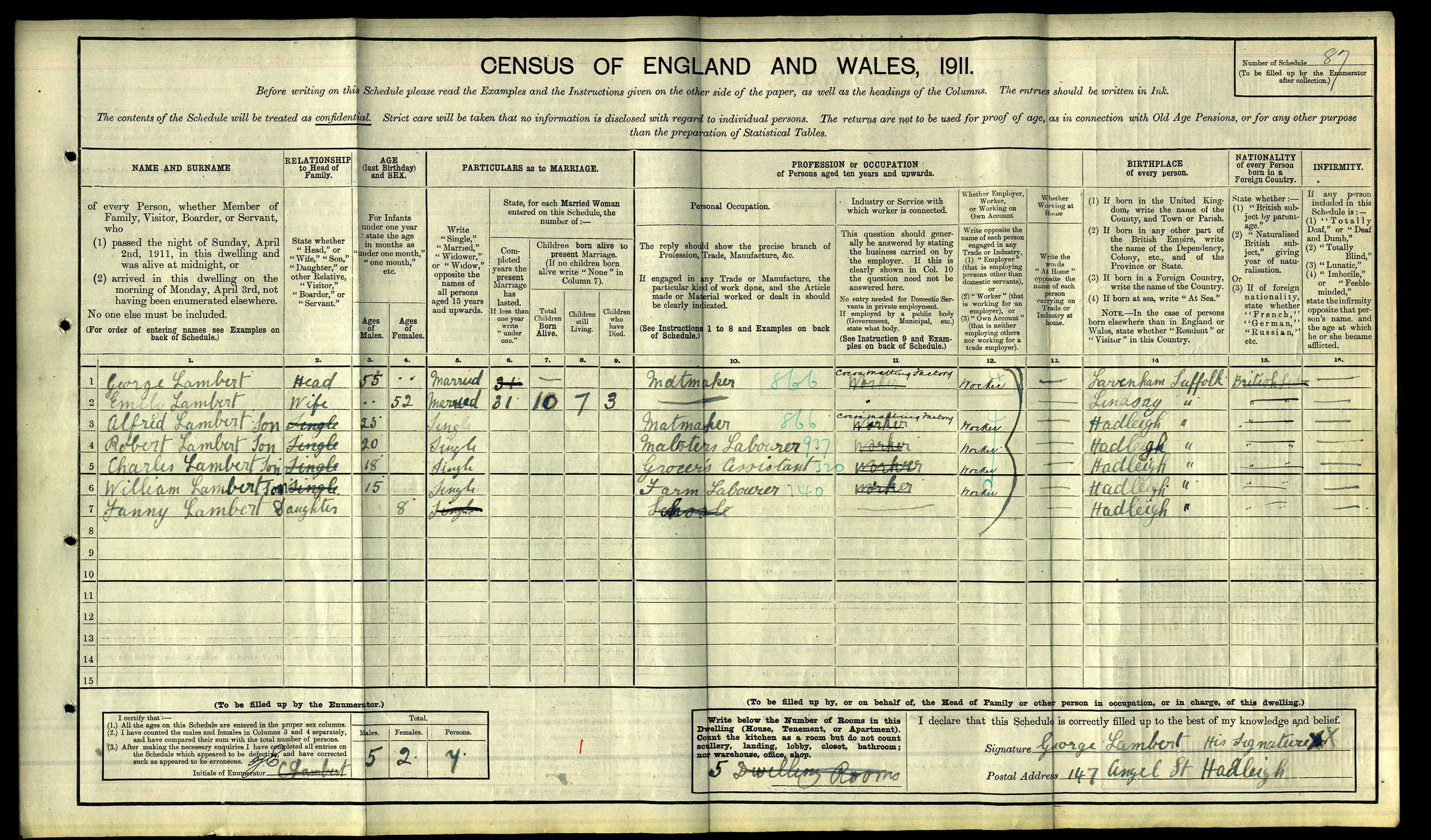 Robert and Alfred Lambert 1911 Census.jpg