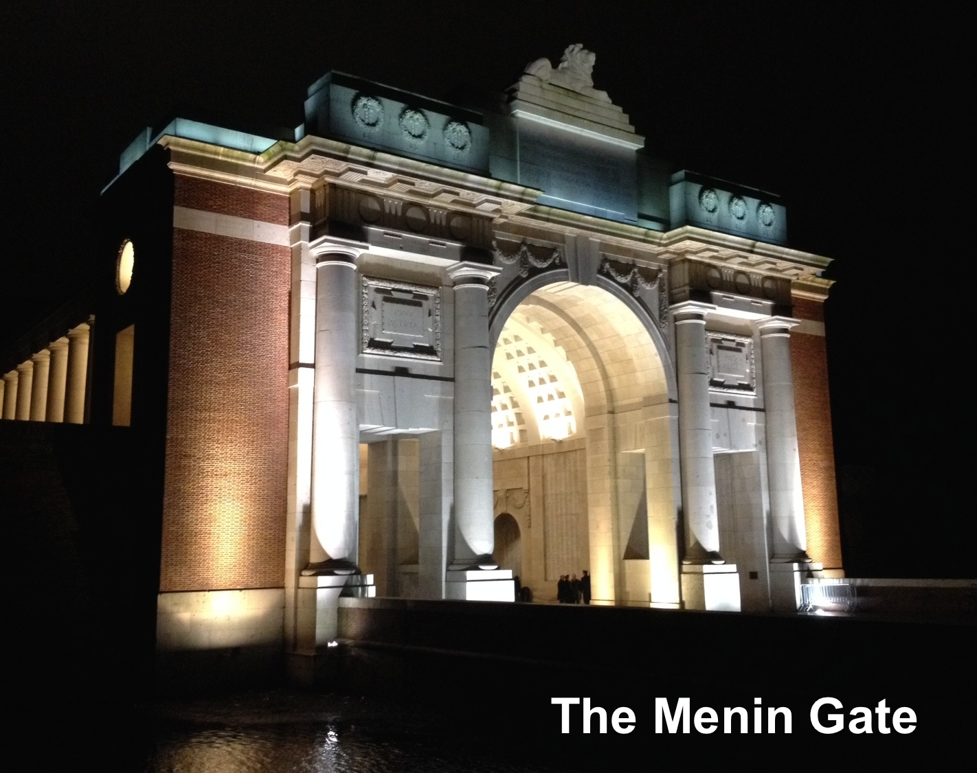 The Menin Gate, the Memorial to the Missing of the Ypres Salient