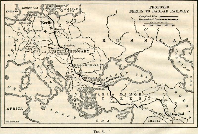 Berlin to Bagdad Railway