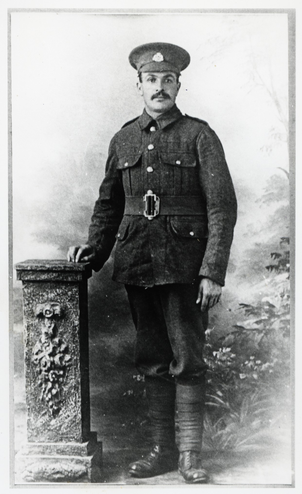 Fred Holbrow, Gallipoli survivor and witness to the death of Stanley Scarff.