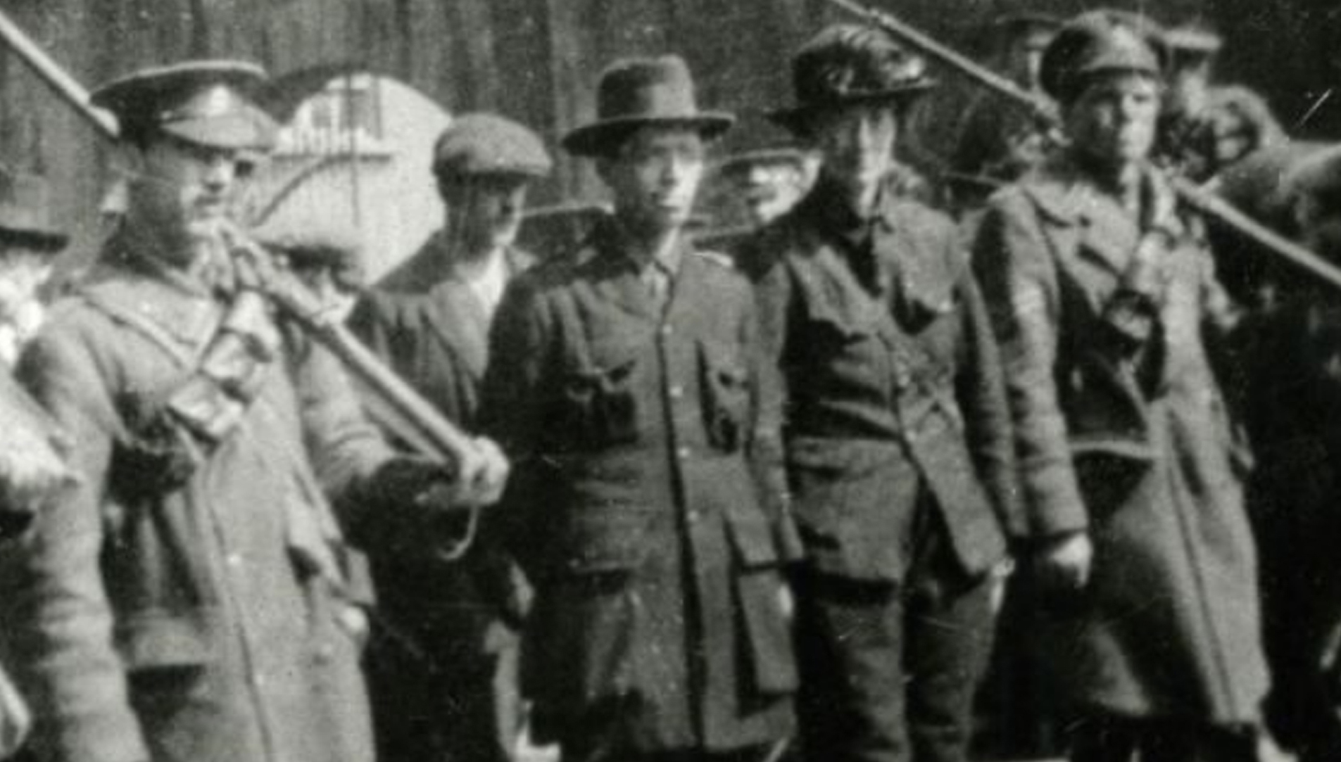 We do not have any photographs of Frederick, however this photograph shows Countess Markievicz under arrest and being escorted by two British soldiers in what looks like the 4th Hussars uniform. It is possible that Frederick could be the one on the left