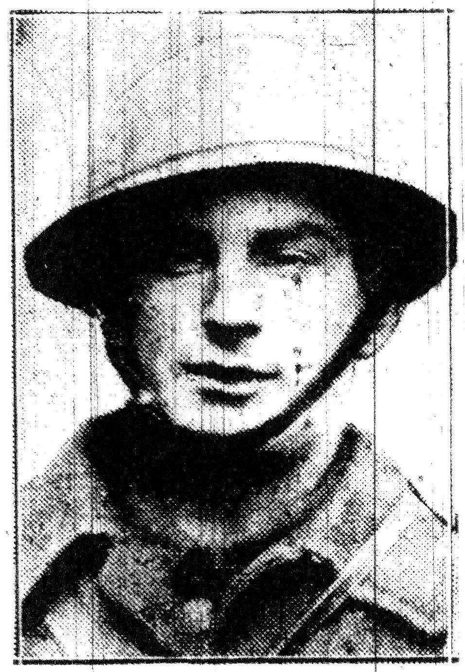 Private Benjamin Thomas Whymark