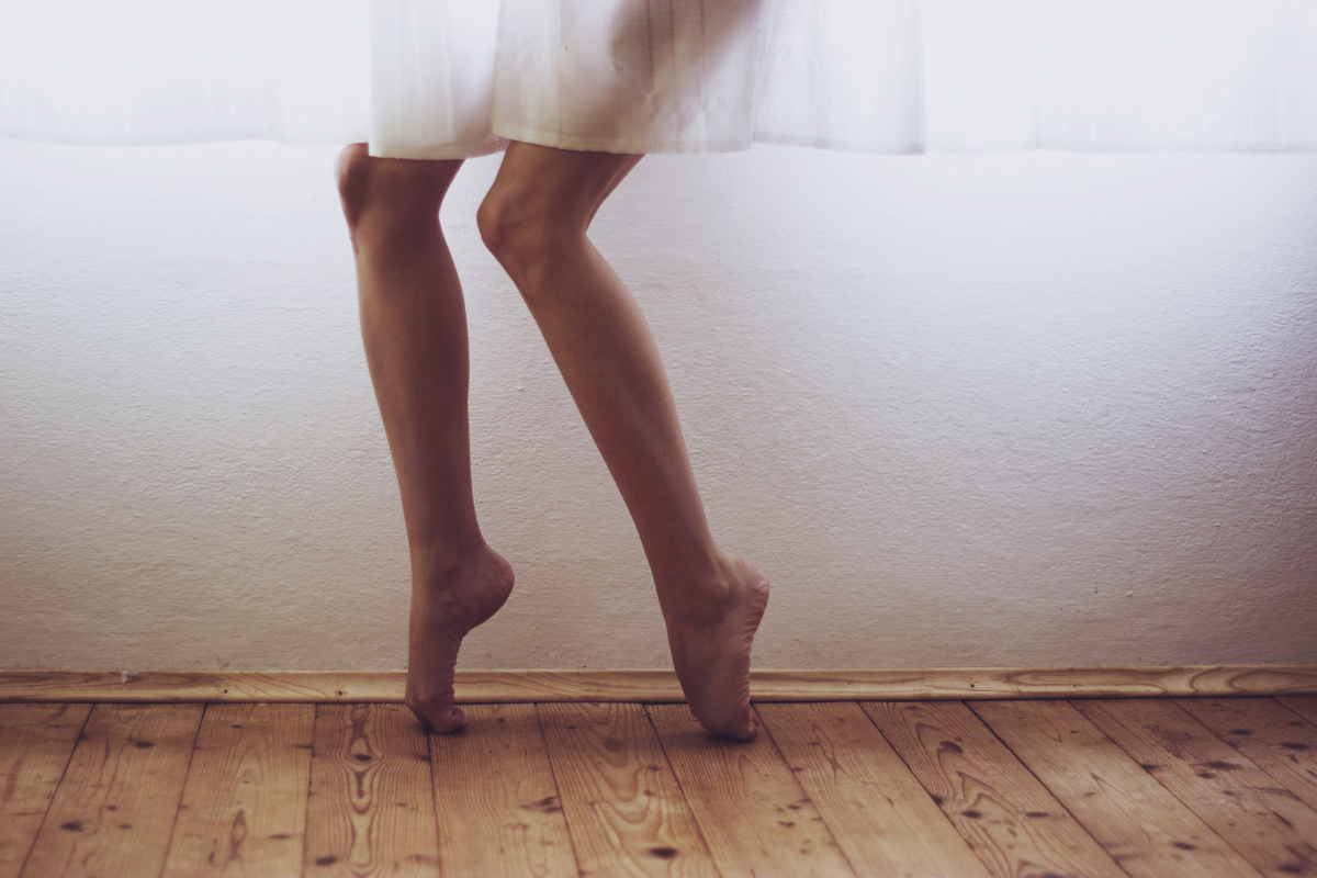 legs and curtains