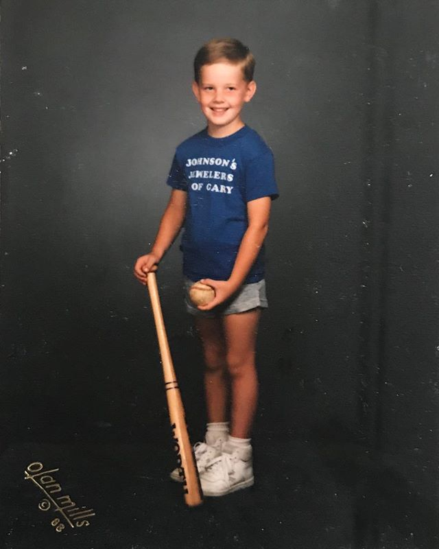 FLASHBACK FRIDAY to this young fella sporting his Johnson's Jewelers of Cary tee. Anybody recognize him? 😉 Post your guess below!