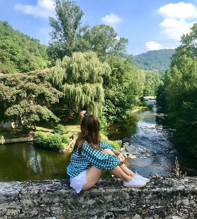Taking it all in; what a summer 2019!  #Summer2019 #France #HappyDays #Travel #Backdrop #Love #Nature #ToTheRoots #Health #Wellness #Happiness #Countryside #Outdoors #Peaceful #Landscape #Water #BlueSkies #SummerHolidays #Family #Friends