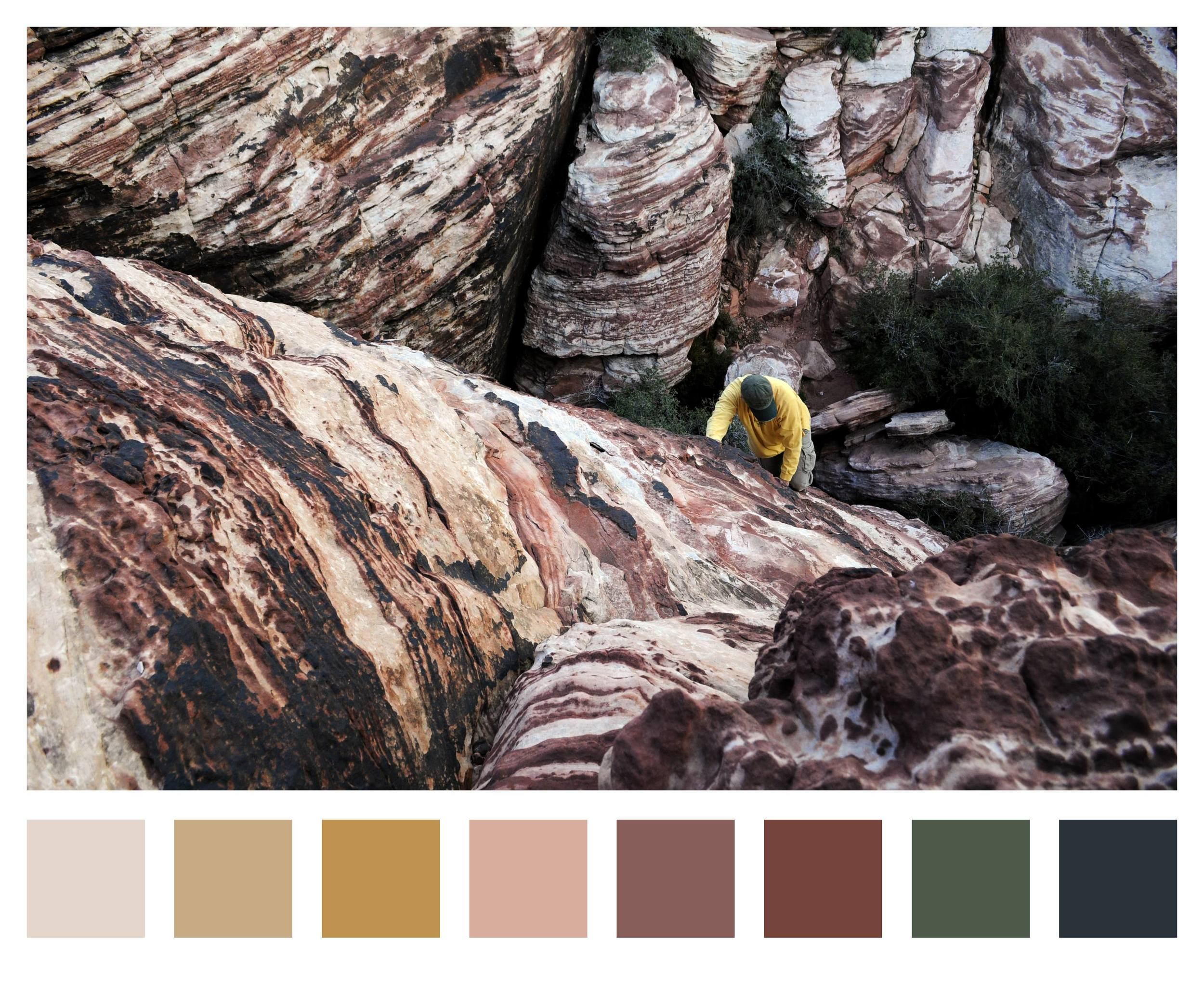 Red Rock Palette
