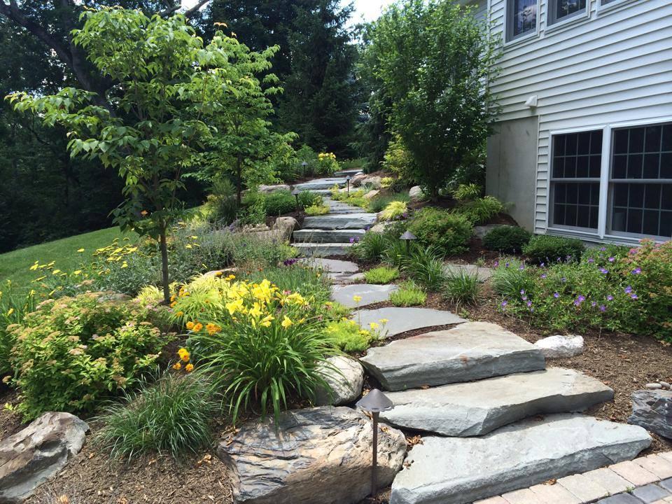 natural stone walkway and steps in bethel, goshen, warwick, pine island, ny