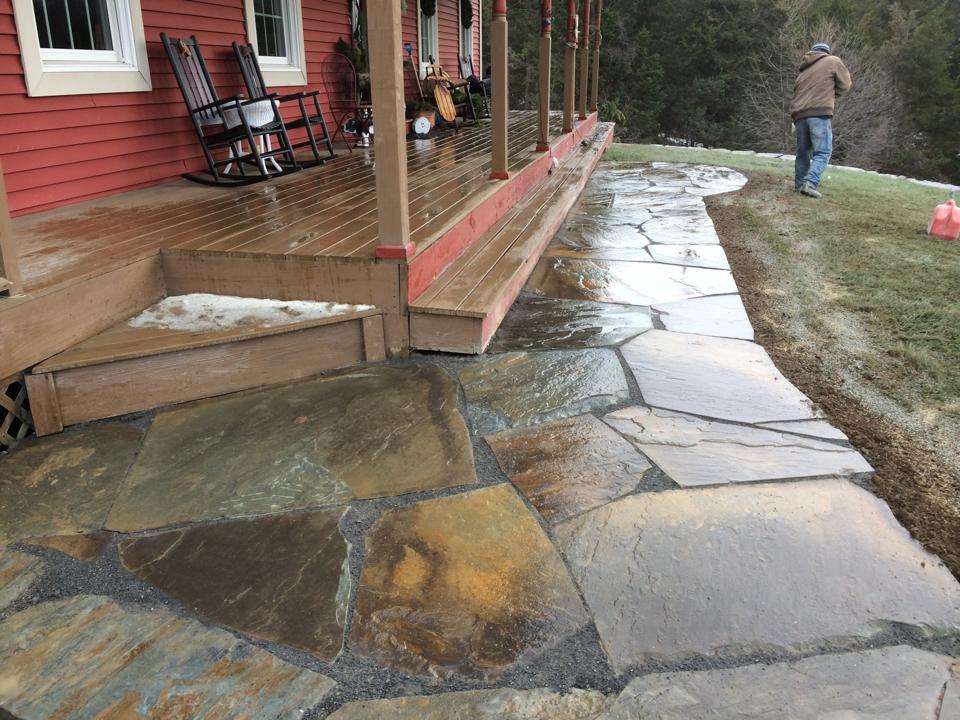 Landscaping ideas in Pine Island NY for walkways