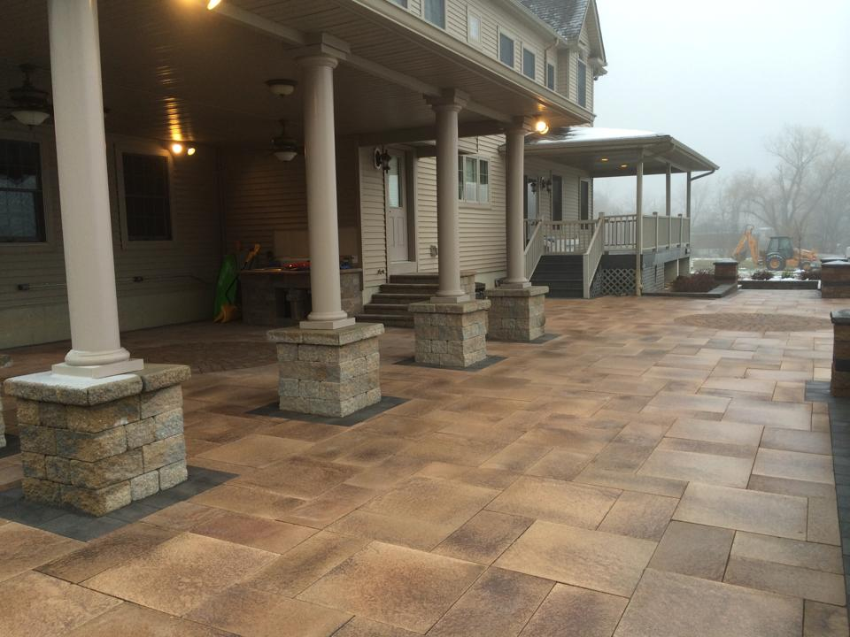 Stunning patio in Chester NY