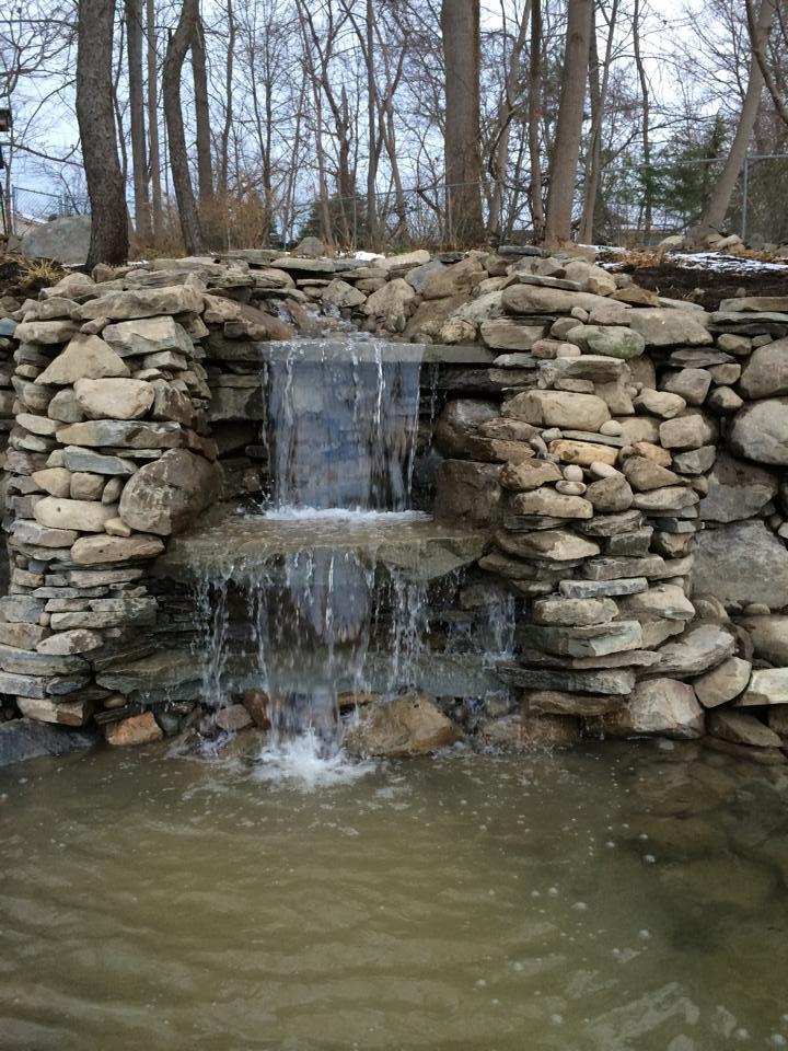 waterfall in goshen, ny