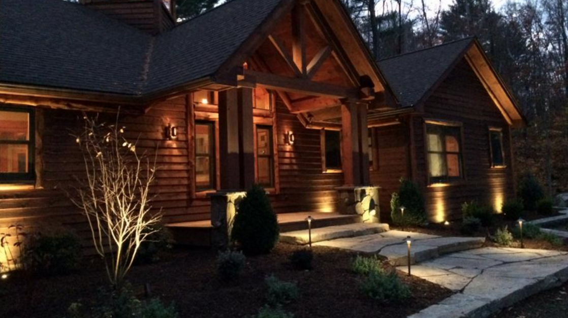outdoor lighting in goshen and warwick, ny