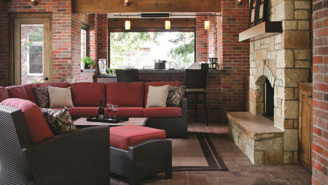 patio entertaining in summer chester, ny