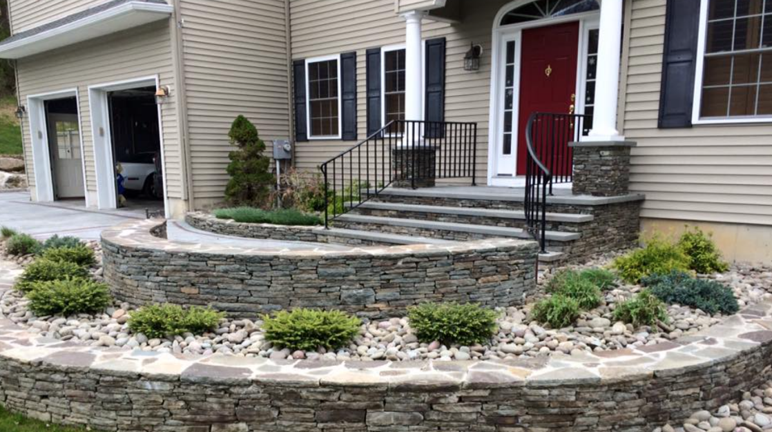 spring planting and curb appeal project to improve home sale value in warwick and goshen, ny