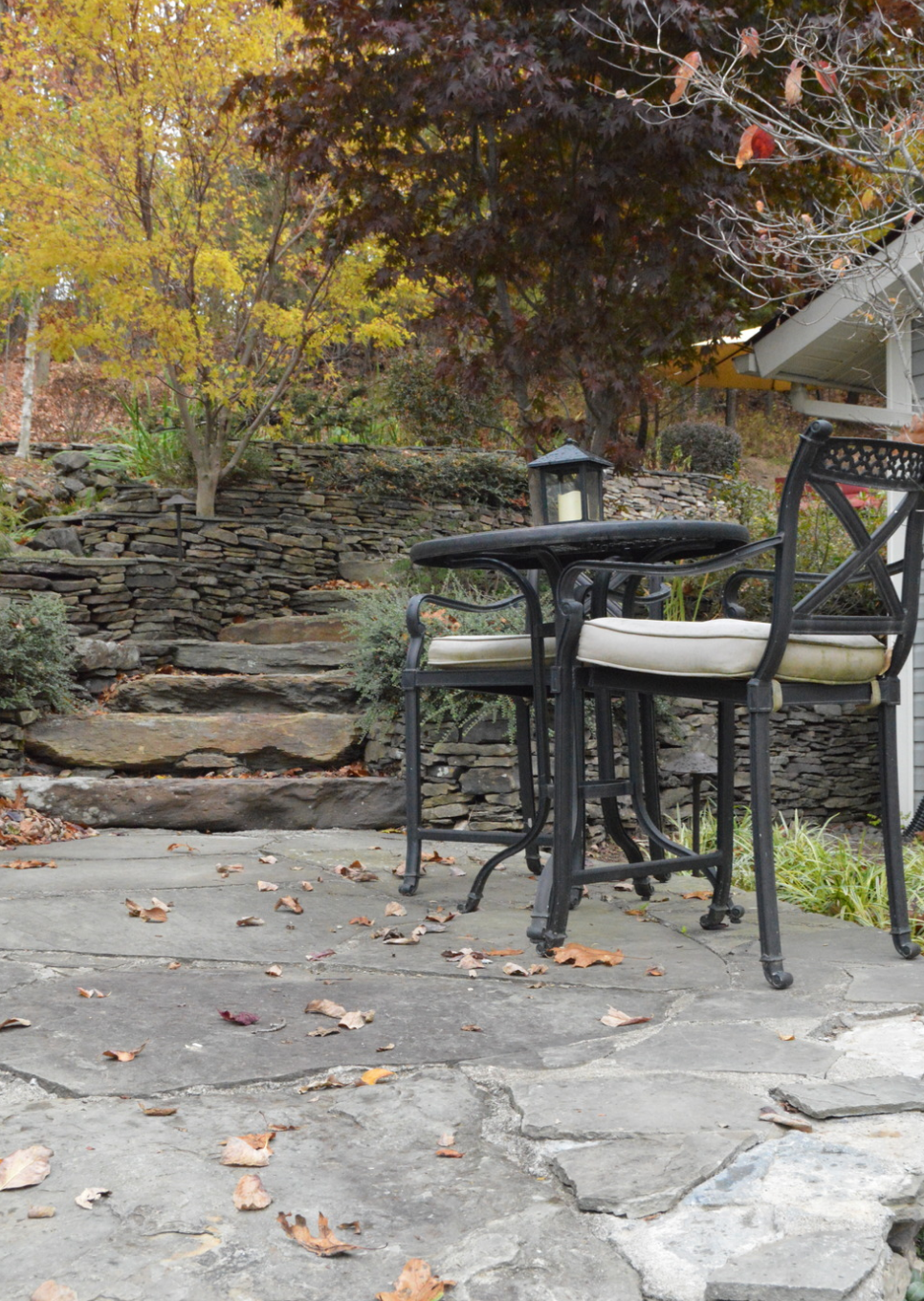 bluestone landscaping to create an outdoor room in bethel and goshen, NY
