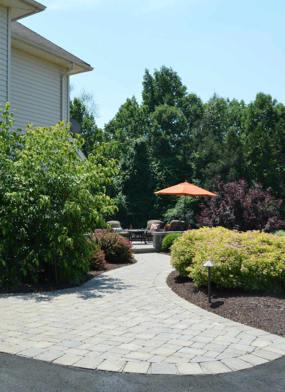 walkway attached to driveway in Warwick, NY