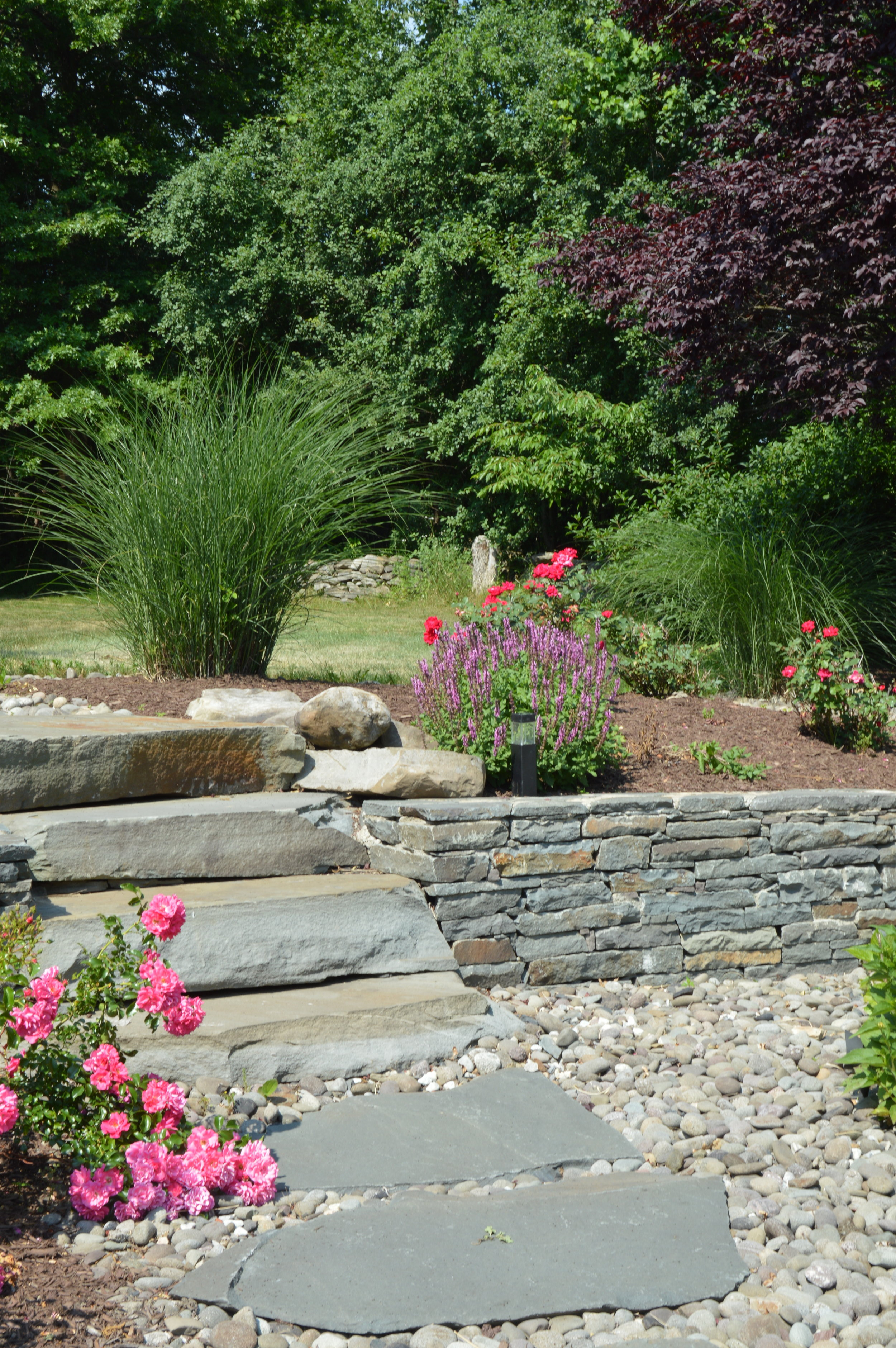Retaining Walls as Landscape Features Bethel NY