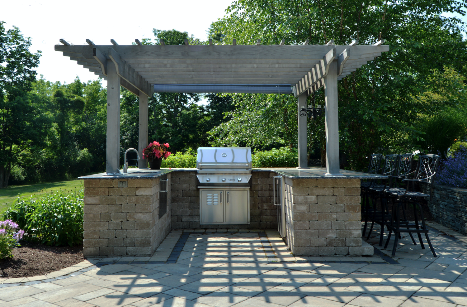 Pavilion And Pergola Landscaping Ideas For An Exquisite Backyard in Monroe NY