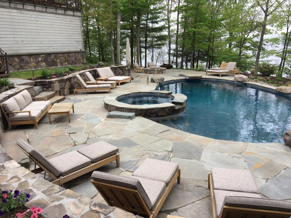 Choosing Plantings for a Welcoming Swimming Pool Area in Bethel, NY