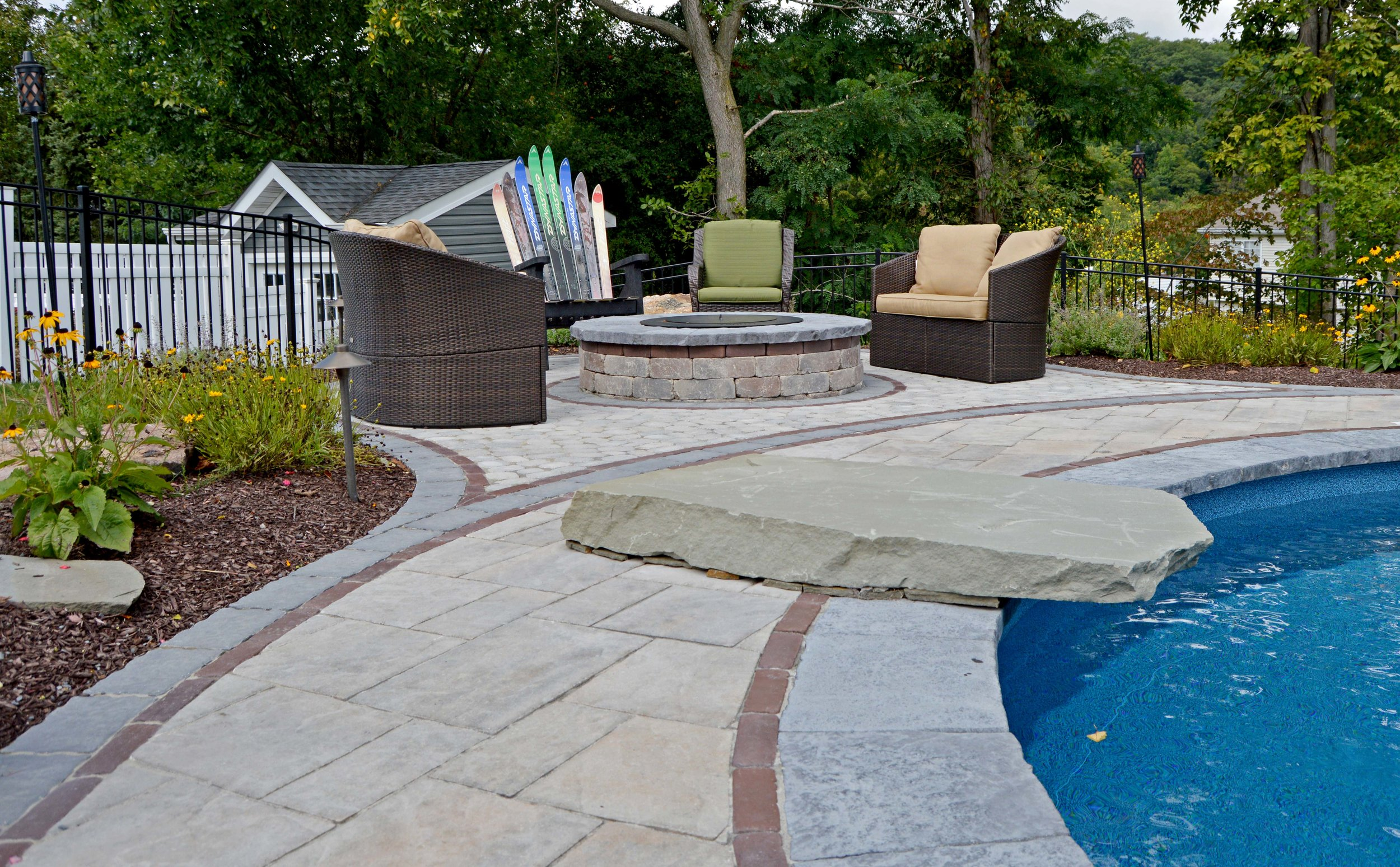 driveway with pavers in Goshen, NY