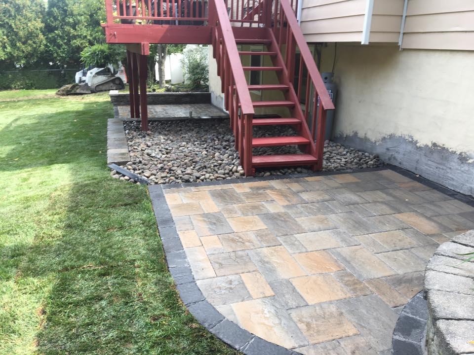Custom masonry and patio in Bethel NY