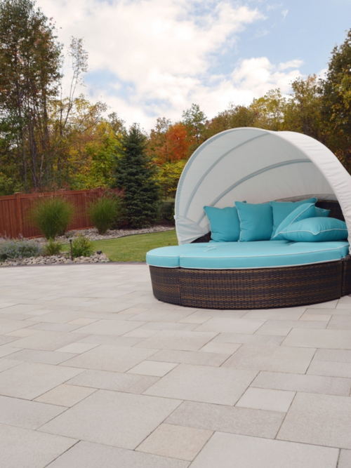 Concrete Pavers for a Stylish Yet Reliable Patio in Warwick, NY