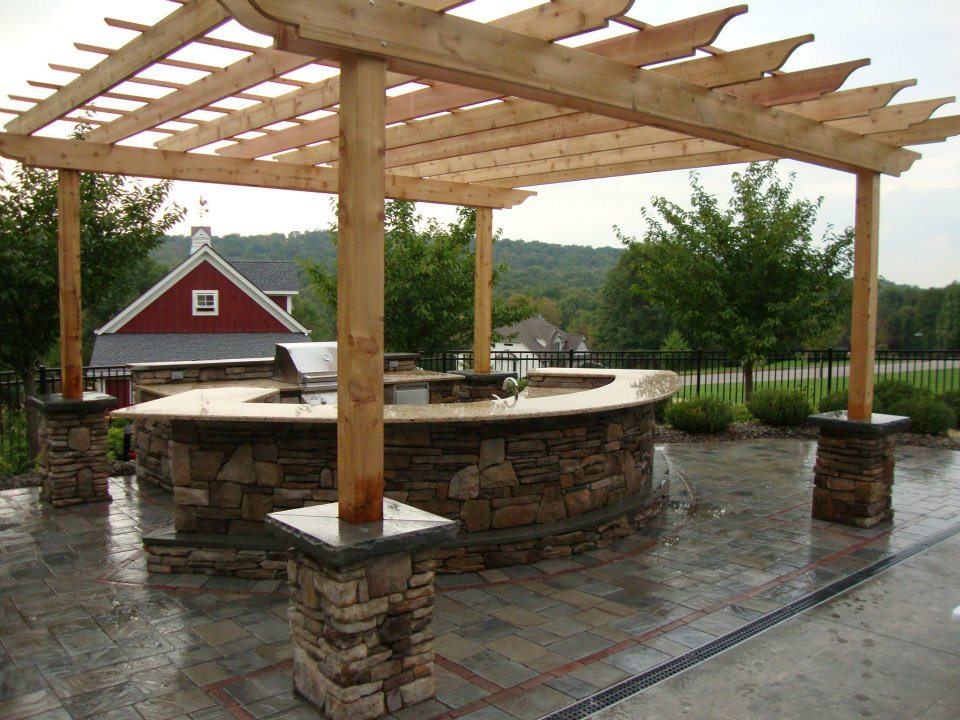 Beautify Your Outdoor Kitchen with Natural Stone Masonry in Monroe, NY