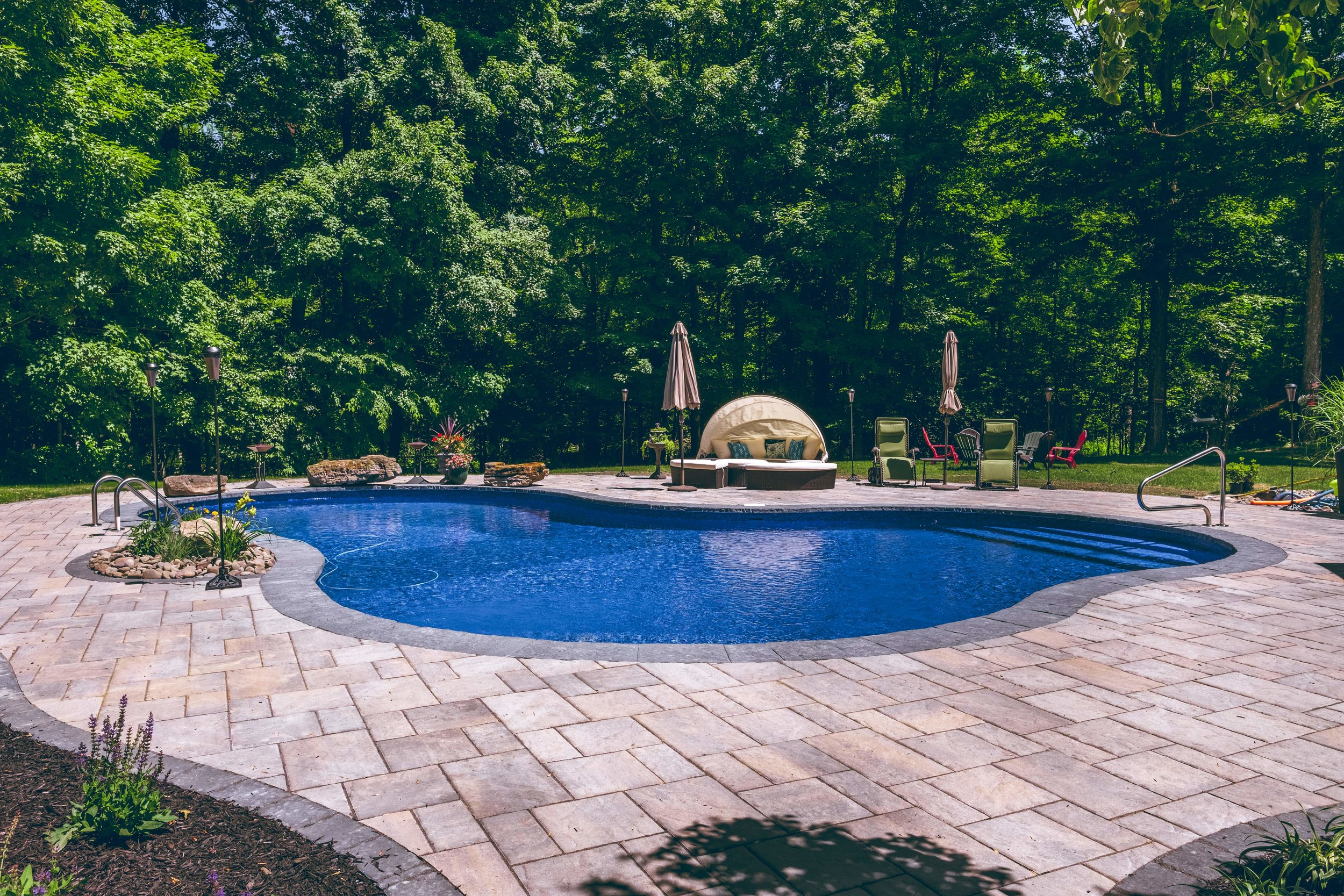 Image of: 5 Backyard Landscaping Ideas For Creating The Ultimate Poolscape In Bethel Ny Landworx Of Ny Landscape Design And Build Goshen Ny Hudson Valley Landscaping Company