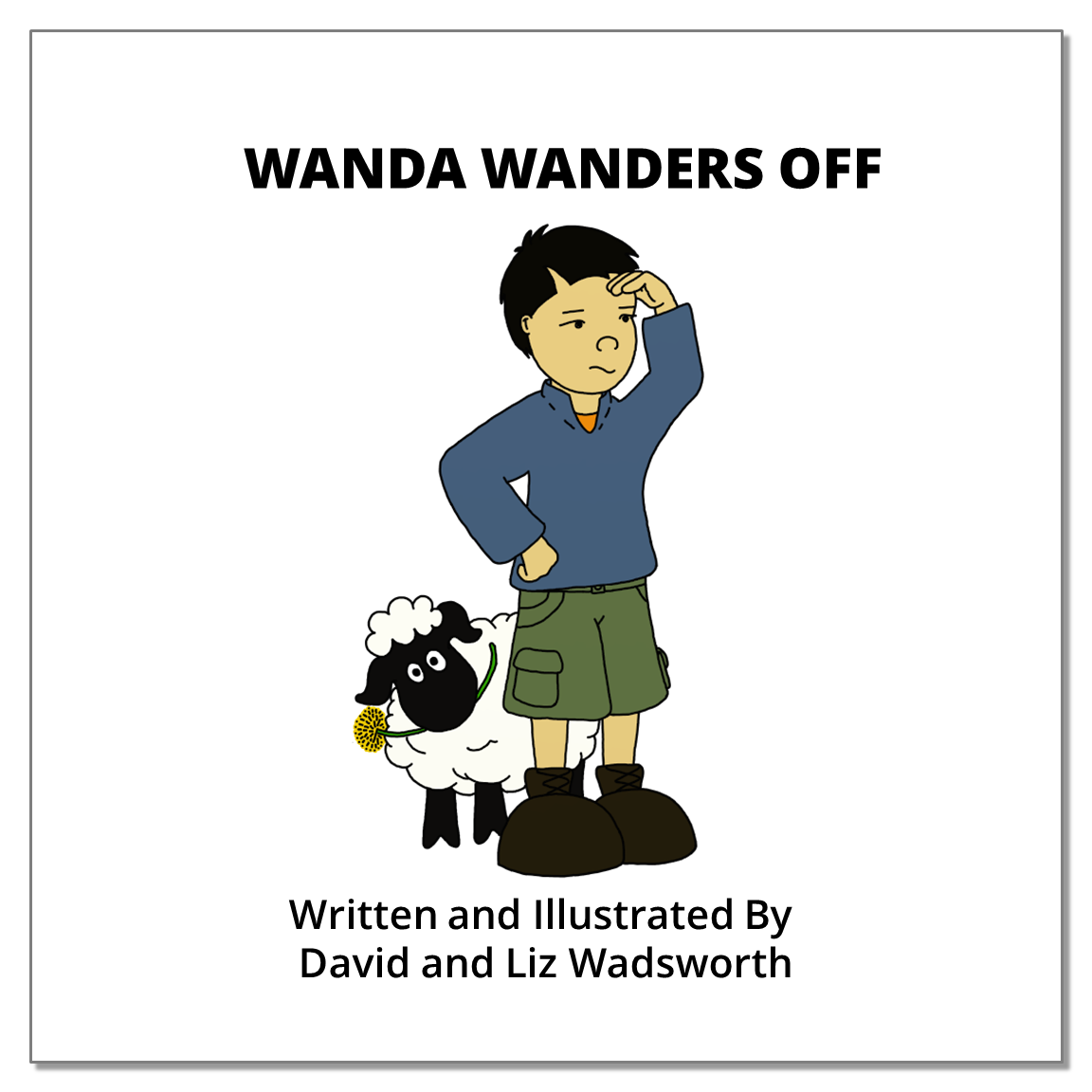 wanda wanders off - The parable of the lost sheep.