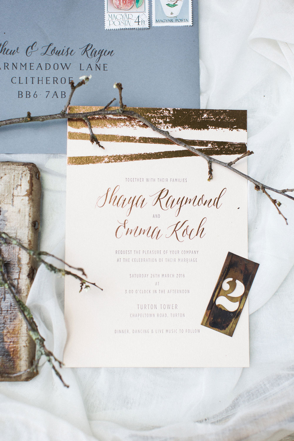 Copper Foiled Natural elements Collection