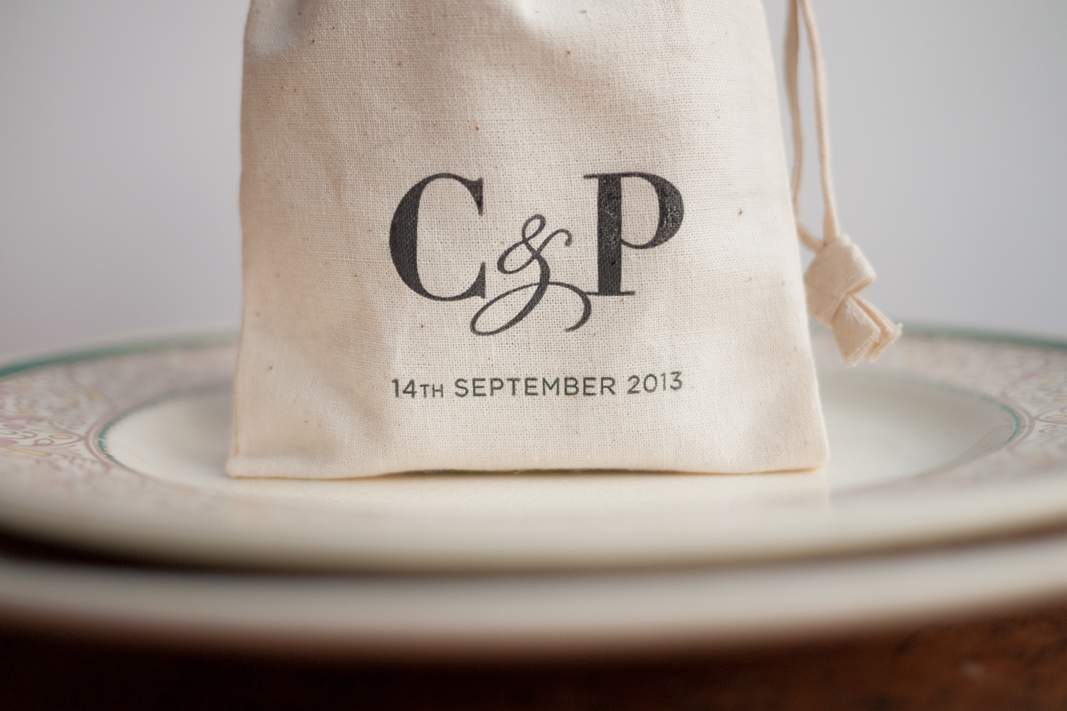 Custom printed favour bags