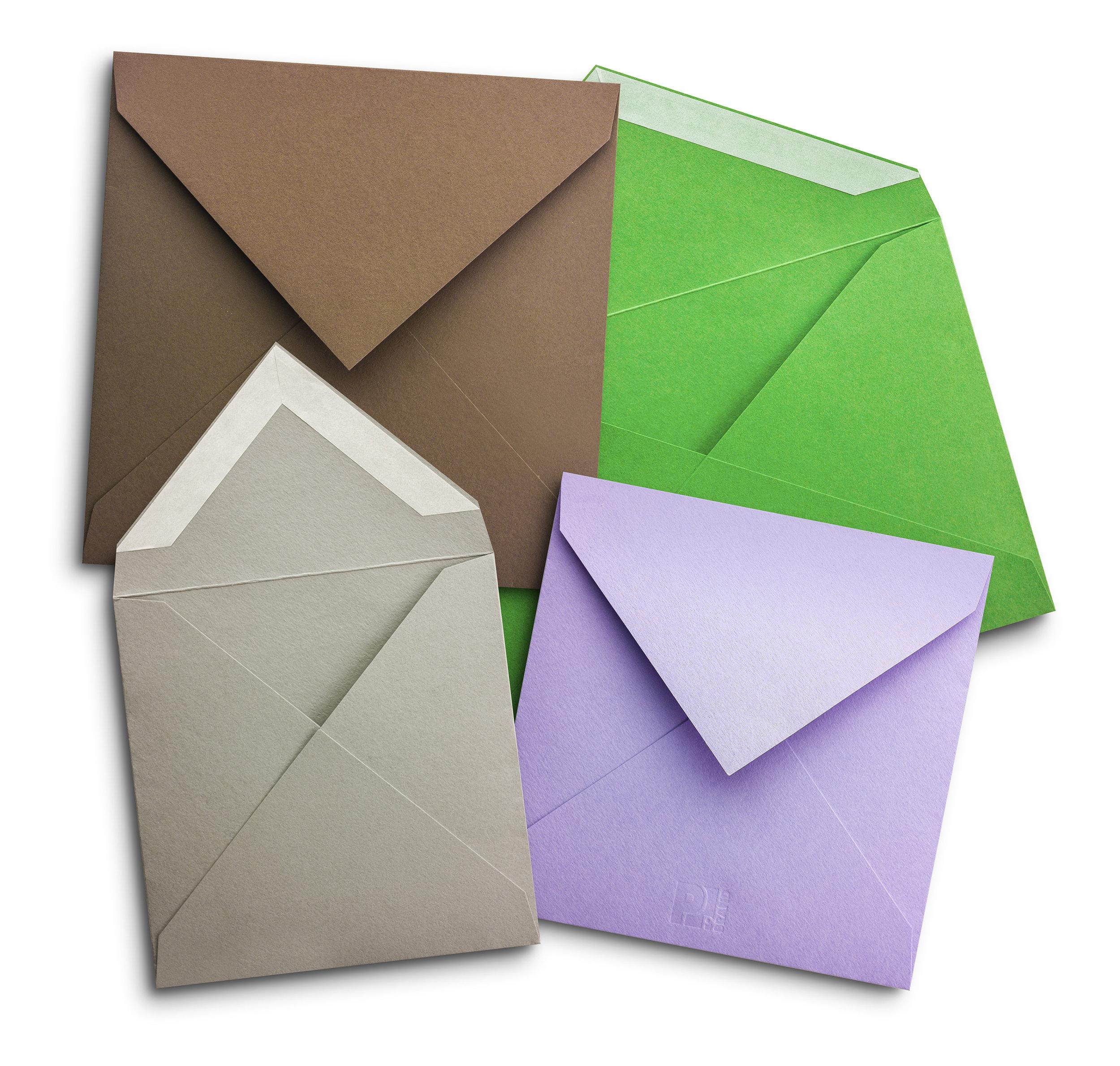 Bespoke diamond flap peal and seal envelopes