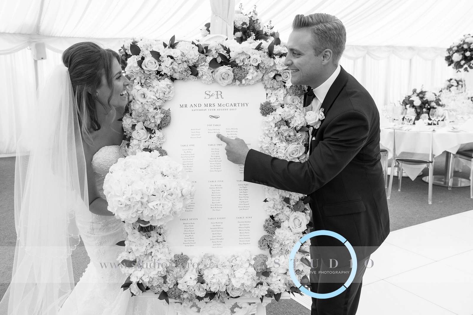 Haworth Table Plan, Photograph by www.studio1.pro