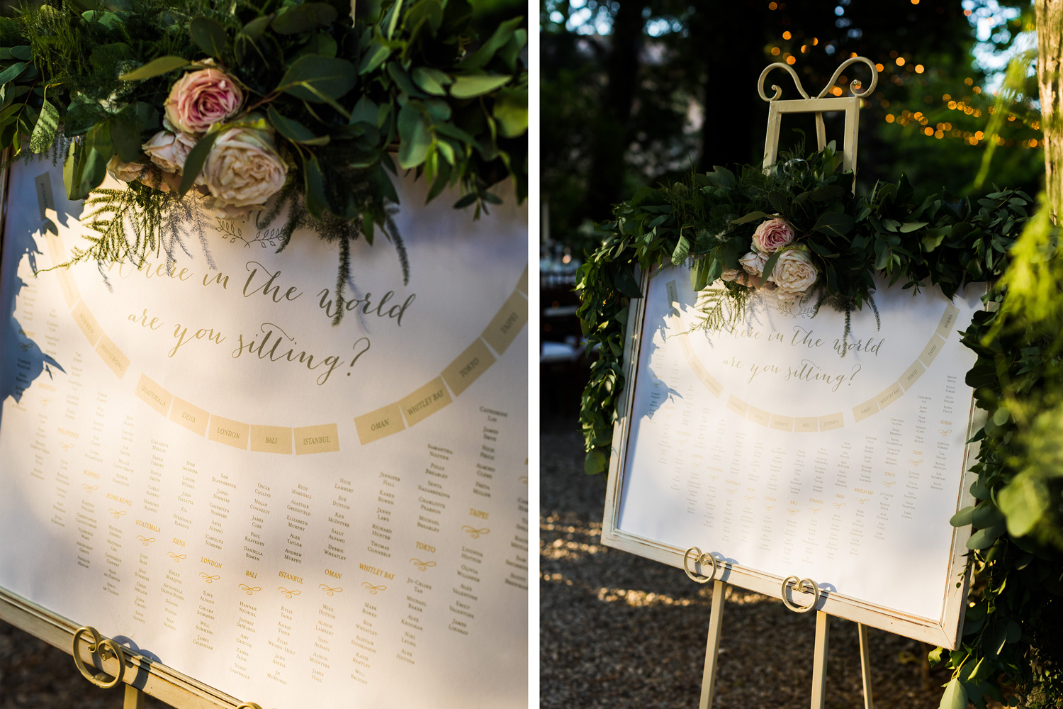 Table Plan Borgo Stomennano