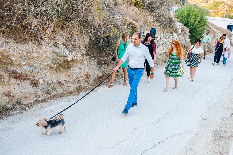 77_Wedding in Folegandros groom going to church.jpg