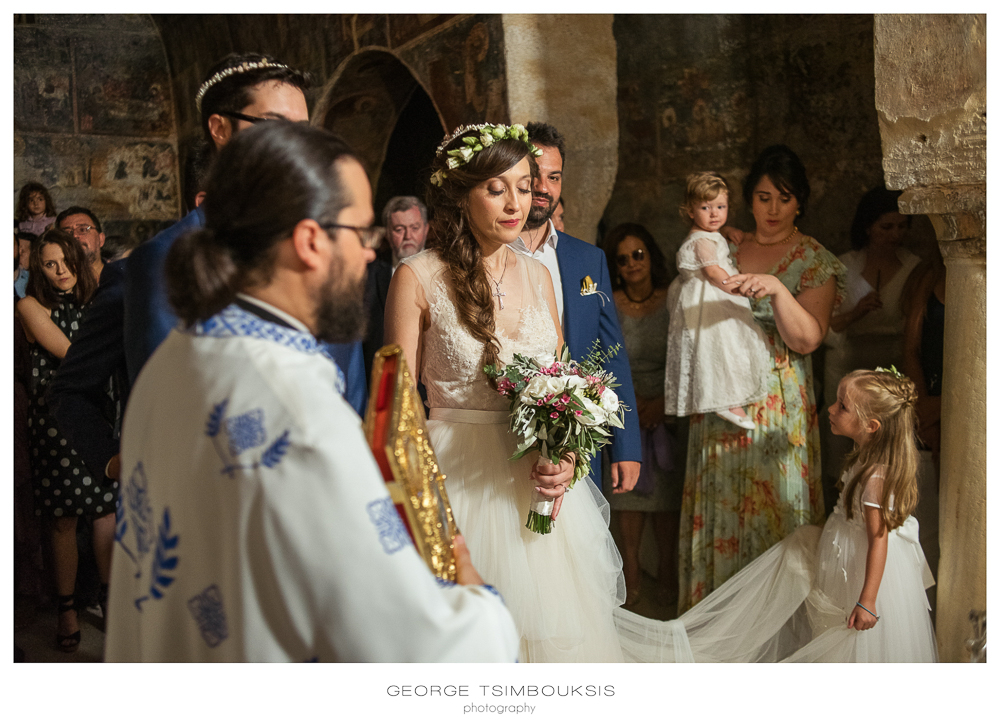 137_Wedding in Mystras_bride in the church.jpg