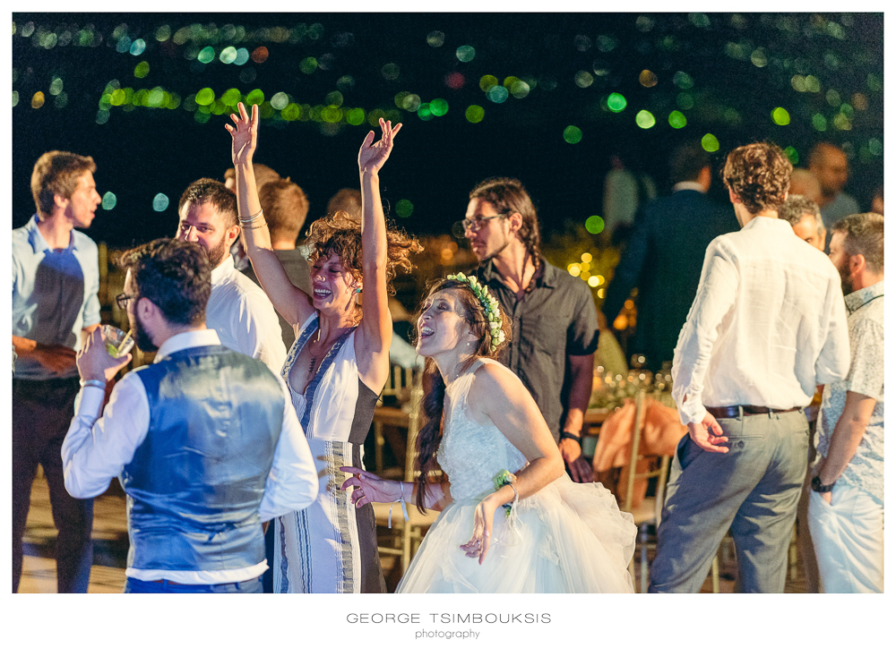 After Wedding party in Melies Hotel , Mystras