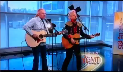 Jimmy and Dave Burris on Good Morning Texas. Dallas, TX
