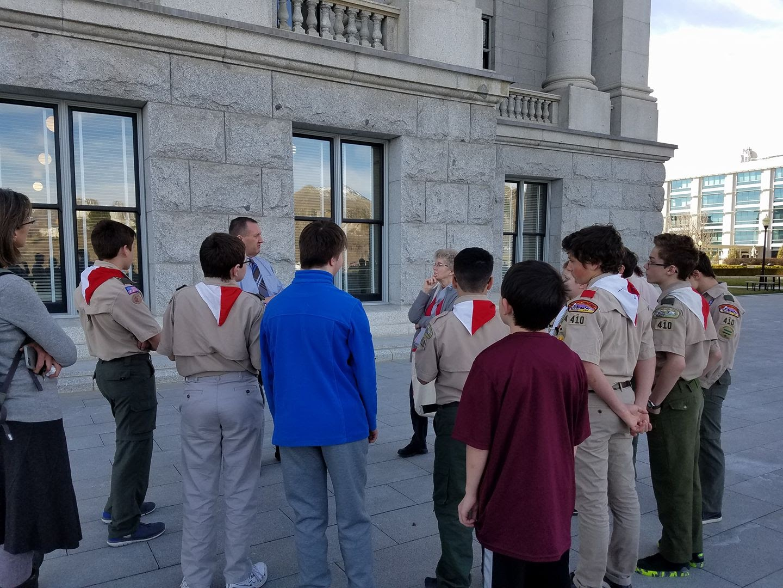 Citizenship Field trip to observe a state legislative session - March 2017