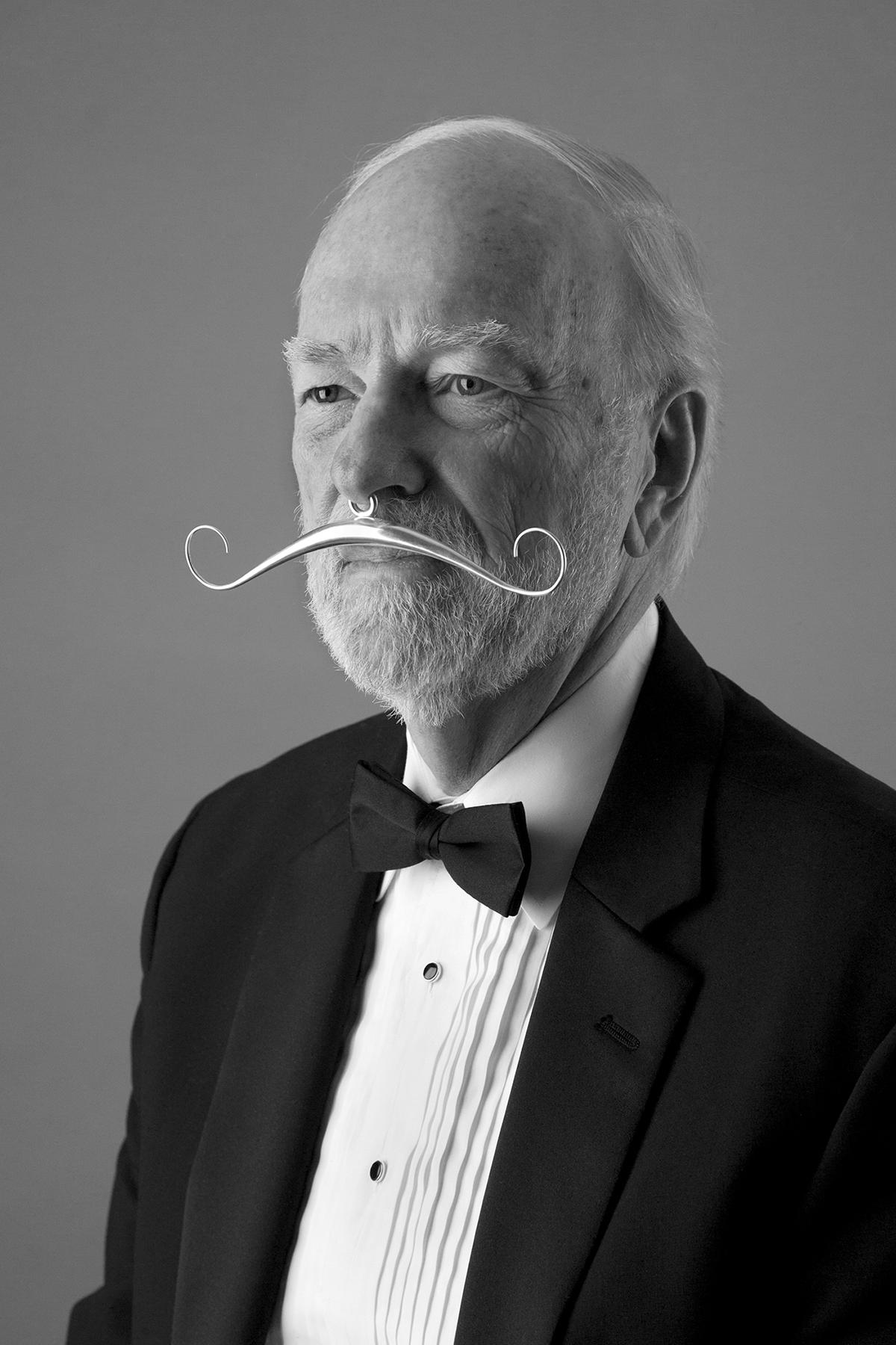 "Elegant ""Gentleman's Prosthetic Moustache"" by Tom Muir"