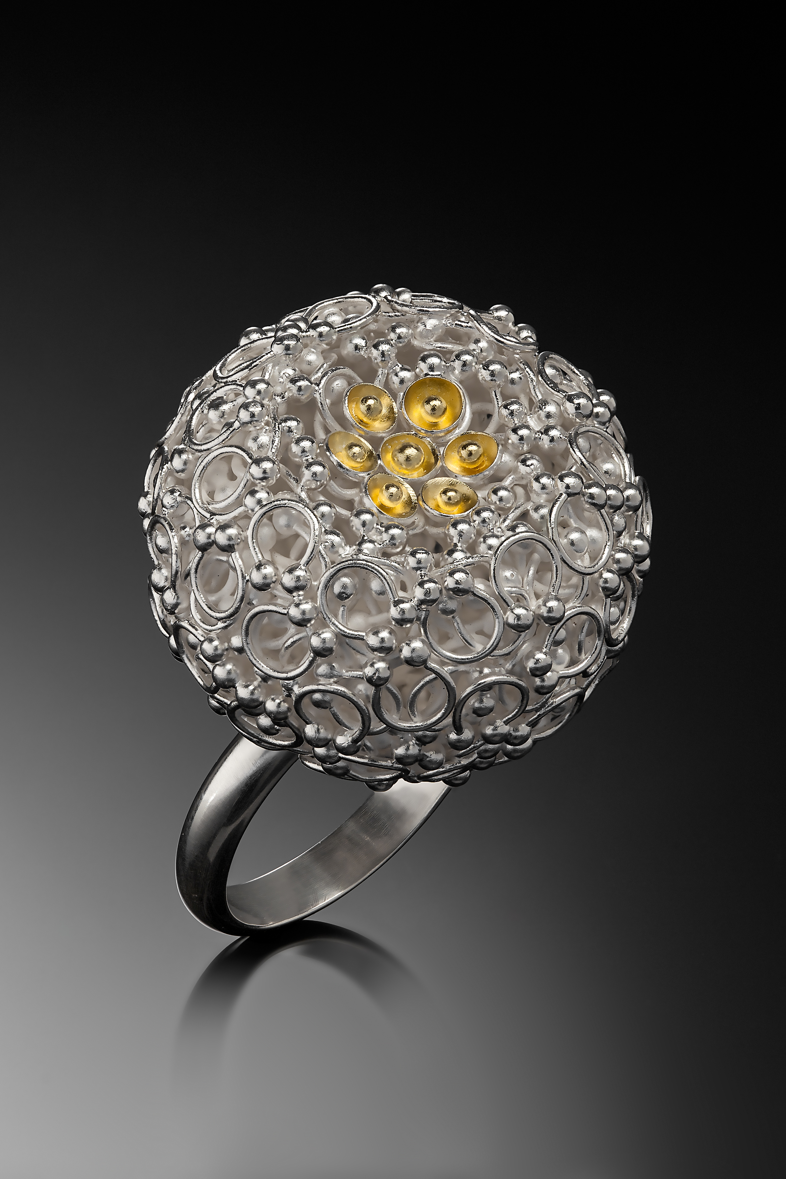 Universe & Me: Ring by Dallae Kang