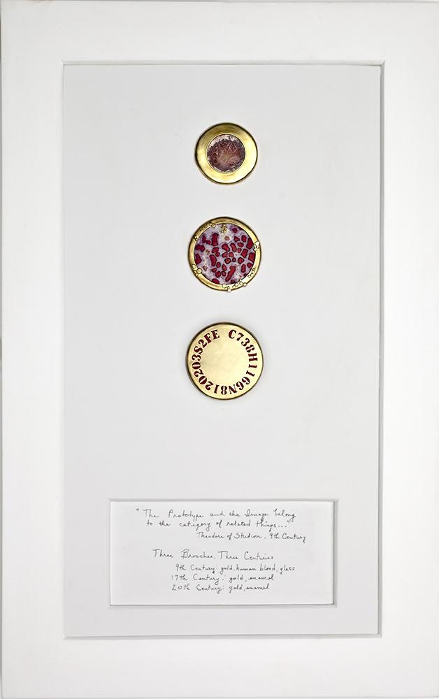 Lisa Gralnick   The Gold Standard Part III: Three Brooches, Three Centuries , 2012