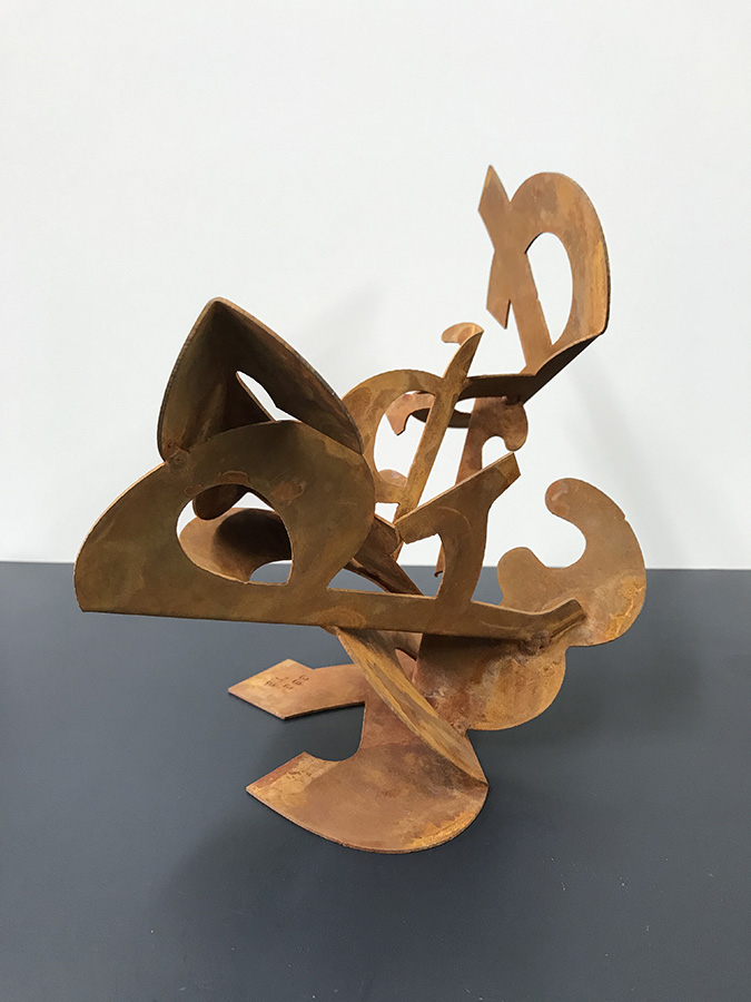 "Gary Griffin   ""et per se and"" Maquette #5 , 2018"