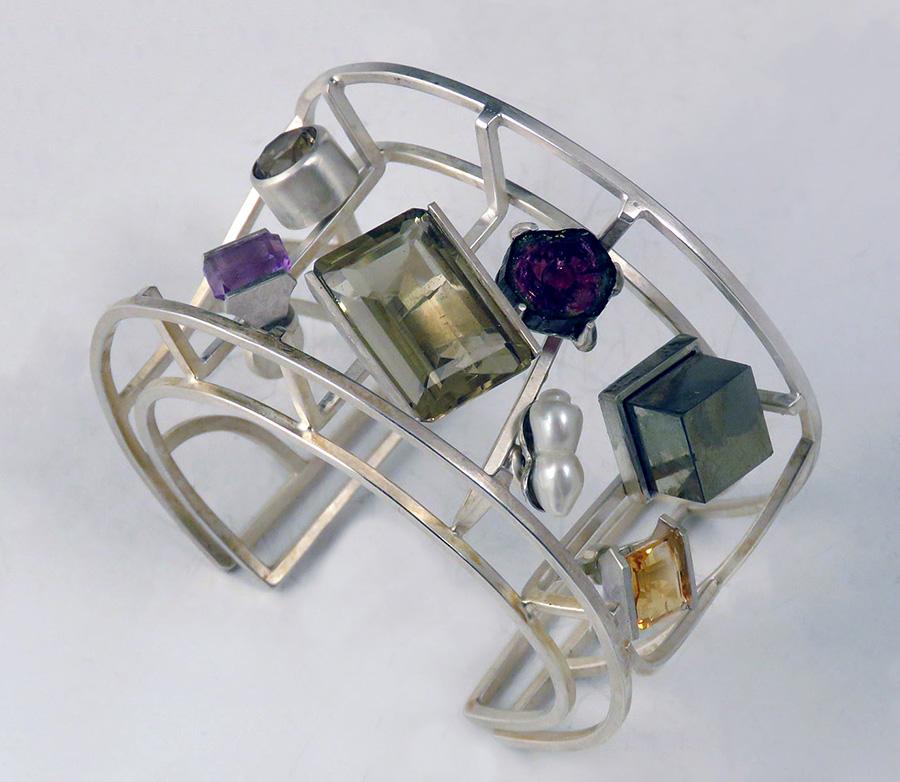 Michael Jerry   Bracelet with Stones , 2019